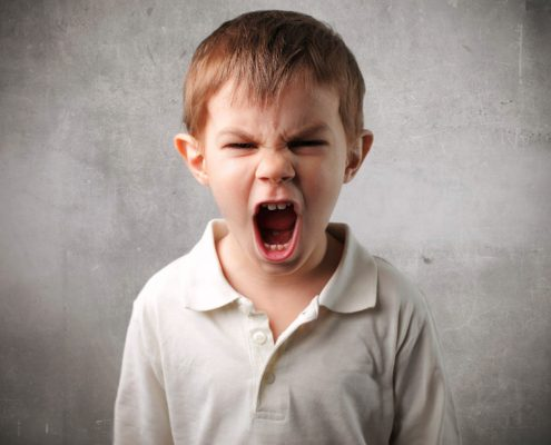 La rabbie e l'aggressivita' dei bambini